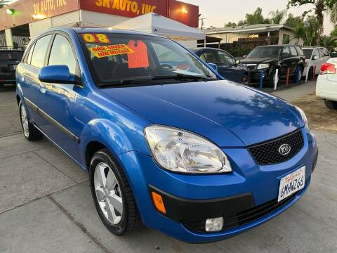 2008 Kia Rio5 for sale at 3K Auto in Escondido CA