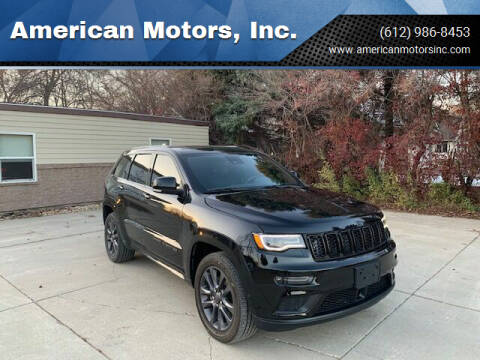 2018 Jeep Grand Cherokee for sale at American Motors, Inc. in Farmington MN