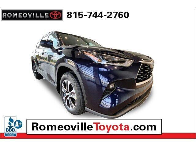 2021 Toyota Highlander Hybrid for sale in Romeoville, IL