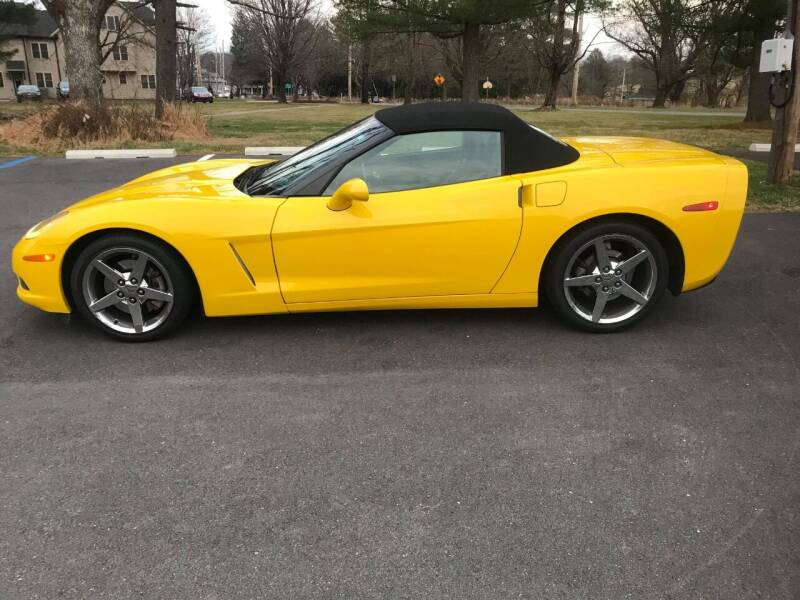 2010 Chevrolet Corvette for sale at Interstate Fleet Inc. Auto Sales in Colmar PA