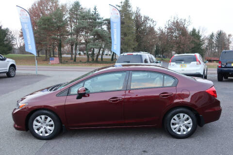 2012 Honda Civic for sale at GEG Automotive in Gilbertsville PA