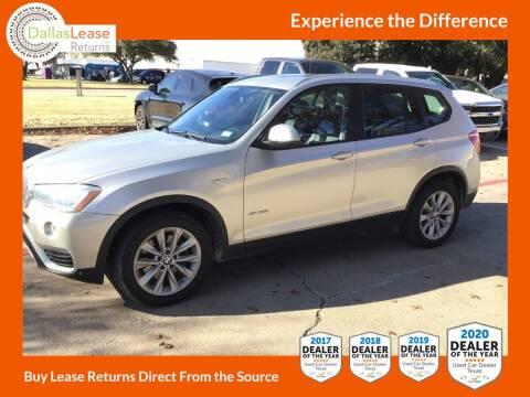 2015 BMW X3 for sale at Dallas Auto Finance in Dallas TX