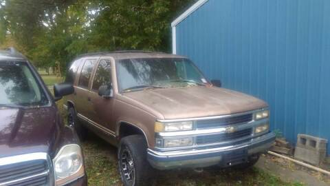 1996 Chevrolet Tahoe for sale at New Start Motors LLC in Montezuma IN