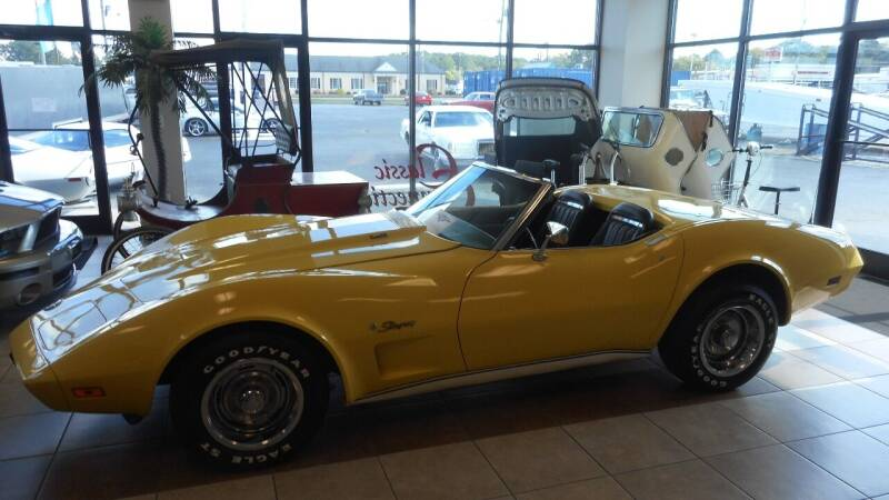 1974 Chevrolet Corvette for sale at Classic Connections in Greenville NC
