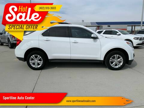 2015 Chevrolet Equinox for sale at Sportline Auto Center in Columbus NE