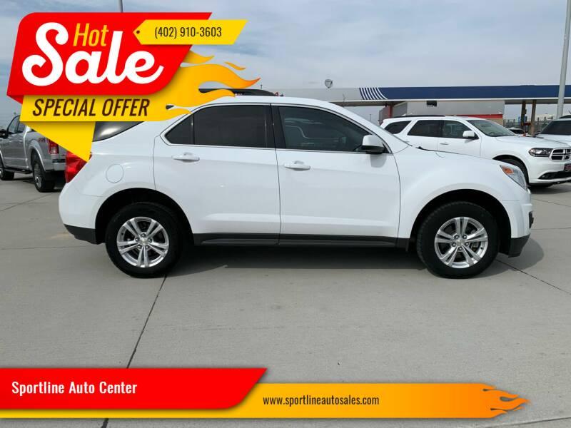 2015 Chevrolet Equinox for sale at Sportline Auto Center in Columbus NE