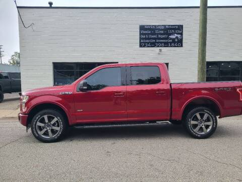 2017 Ford F-150 for sale at Kevin Lapp Motors in Plymouth MI