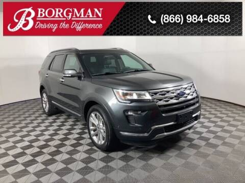 2018 Ford Explorer for sale at BORGMAN OF HOLLAND LLC in Holland MI