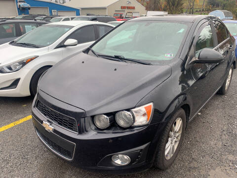 2014 Chevrolet Sonic for sale at BURNWORTH AUTO INC in Windber PA