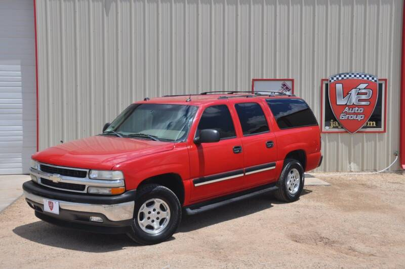 2005 Chevrolet Suburban for sale at V12 Auto Group in Lubbock TX