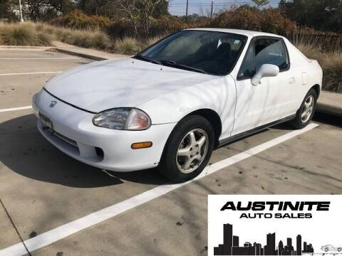 1996 Honda Civic del Sol for sale at Austinite Auto Sales in Austin TX