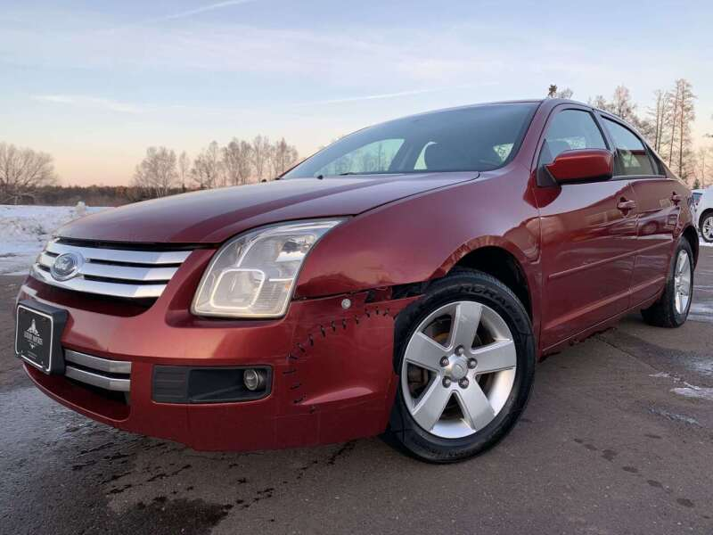 2007 Ford Fusion for sale at LUXURY IMPORTS in Hermantown MN