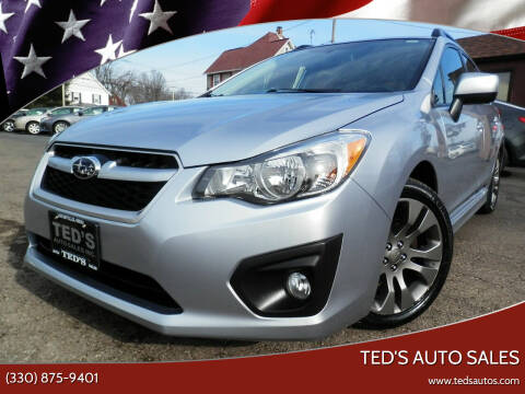 2014 Subaru Impreza for sale at Ted's Auto Sales in Louisville OH