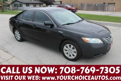 2008 Toyota Camry Hybrid for sale at Your Choice Autos in Posen IL
