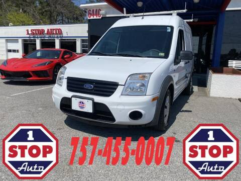 2012 Ford Transit Connect for sale at 1 Stop Auto in Norfolk VA