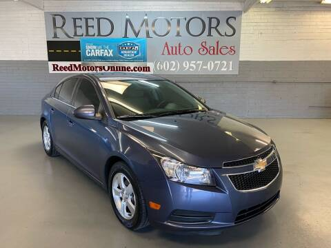 2014 Chevrolet Cruze for sale at REED MOTORS LLC in Phoenix AZ
