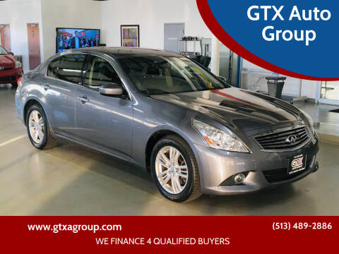 2012 Infiniti G37 Sedan for sale at GTX Auto Group in West Chester OH
