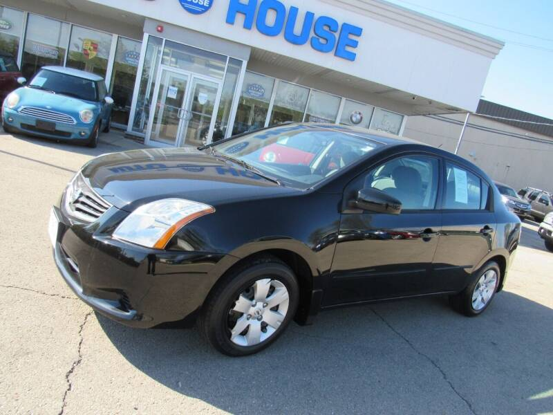 2011 Nissan Sentra for sale at Auto House Motors in Downers Grove IL