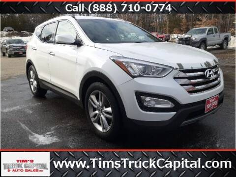 2013 Hyundai Santa Fe Sport for sale at TTC AUTO OUTLET/TIM'S TRUCK CAPITAL & AUTO SALES INC ANNEX in Epsom NH