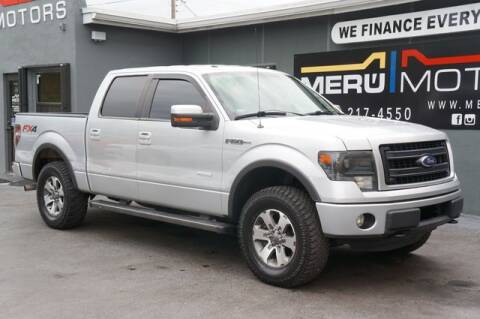 2013 Ford F-150 for sale at Meru Motors in Hollywood FL