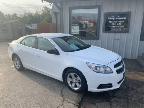 2013 Chevrolet Malibu for sale at Rutledge Auto Group in Palestine TX