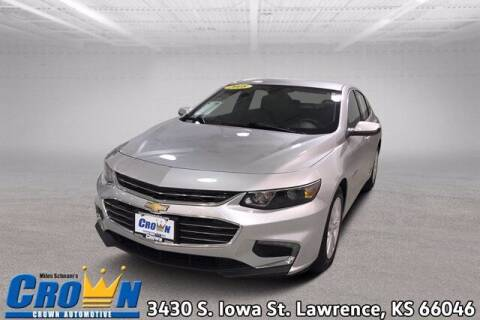2018 Chevrolet Malibu for sale at Crown Automotive of Lawrence Kansas in Lawrence KS