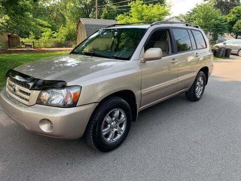 2004 Toyota Highlander for sale at Via Roma Auto Sales in Columbus OH