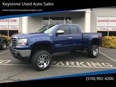 2013 GMC Sierra 1500 for sale at Keystone Used Auto Sales in Brodheadsville PA