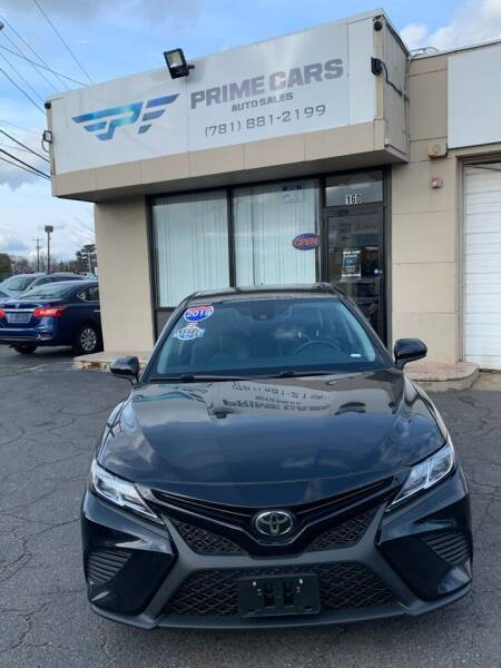 2019 Toyota Camry for sale at Prime Cars Auto Sales in Saugus MA