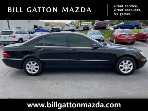 2002 Mercedes-Benz S-Class for sale at Bill Gatton Used Cars - BILL GATTON ACURA MAZDA in Johnson City TN