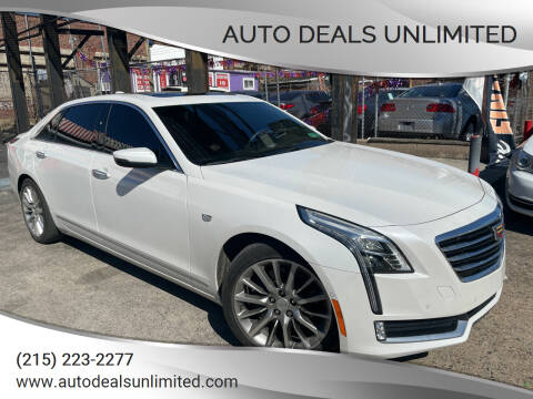 2017 Cadillac CT6 for sale at AUTO DEALS UNLIMITED in Philadelphia PA