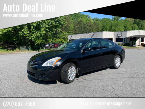 2011 Nissan Altima for sale at Auto Deal Line in Alpharetta GA