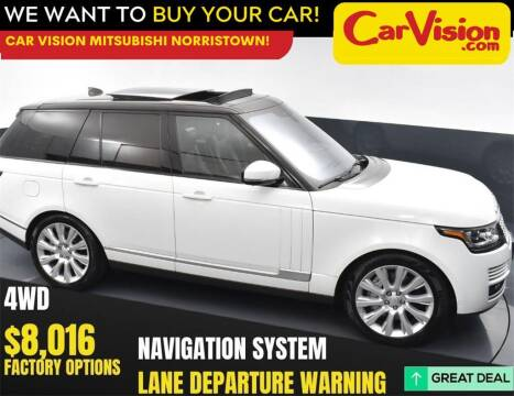 2017 Land Rover Range Rover for sale at Car Vision Mitsubishi Norristown in Norristown PA