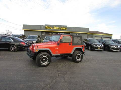 2005 Jeep Wrangler for sale at MIRA AUTO SALES in Cincinnati OH