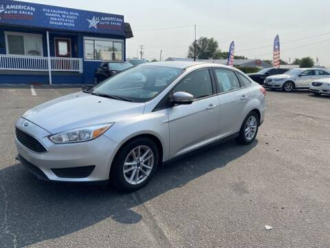 2017 Ford Focus for sale at All American Auto Sales LLC in Nampa ID