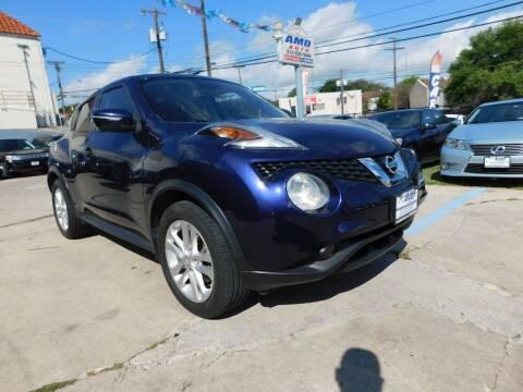 2015 Nissan JUKE for sale at AMD AUTO in San Antonio TX