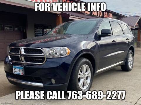 2011 Dodge Durango for sale at Affordable Auto Sales in Cambridge MN
