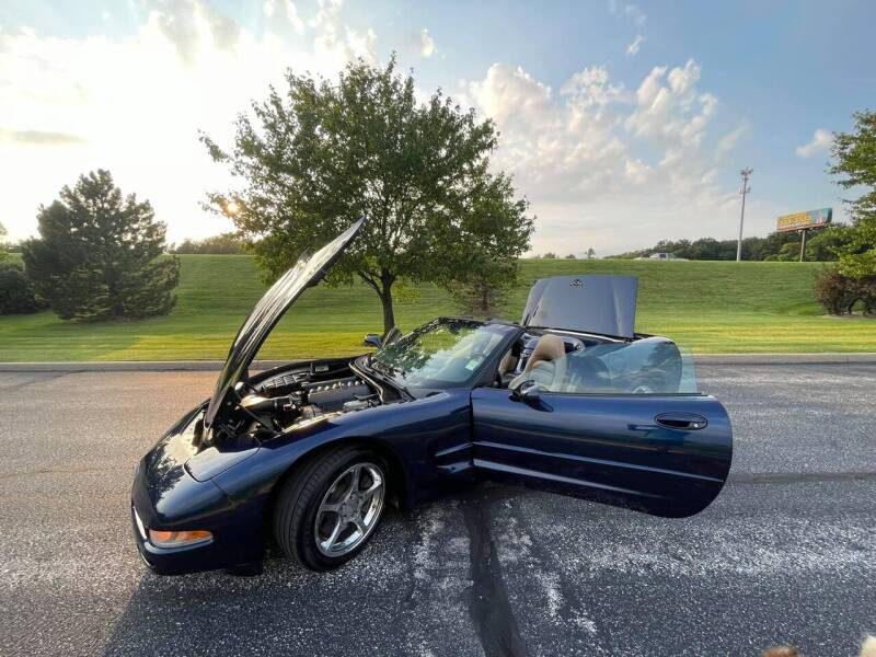 2001 Chevrolet Corvette for sale at Q and A Motors in Saint Louis MO