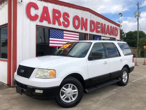 2005 Ford Expedition for sale at Cars On Demand 2 in Pasadena TX