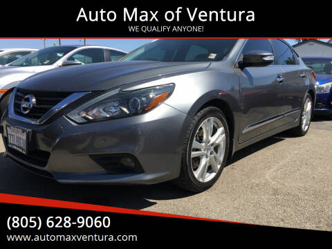 2016 Nissan Altima for sale at Auto Max of Ventura in Ventura CA