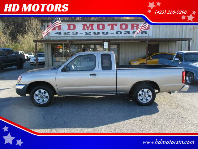2000 Nissan Frontier for sale at HD MOTORS in Kingsport TN