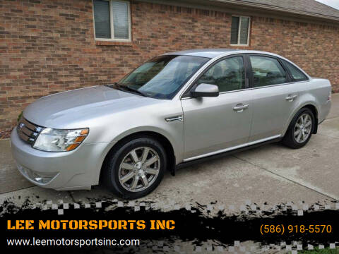 2008 Ford Taurus for sale at LEE MOTORSPORTS INC in Mount Clemens MI