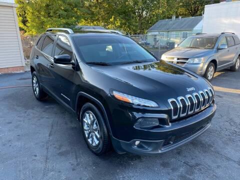 2014 Jeep Cherokee for sale at Brucken Motors in Evansville IN