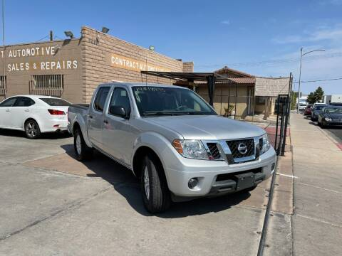 2019 Nissan Frontier for sale at CONTRACT AUTOMOTIVE in Las Vegas NV