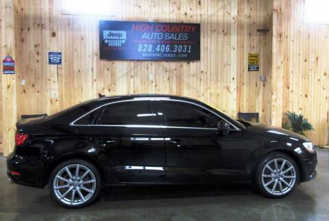 2015 Audi A3 for sale at Boone NC Jeeps-High Country Auto Sales in Boone NC