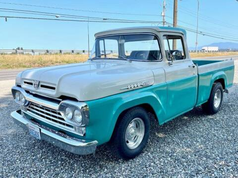 1960 Ford F-100 for sale at Drager's International Classic Sales in Burlington WA
