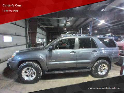 2004 Toyota 4Runner for sale at Carson's Cars in Milwaukee WI