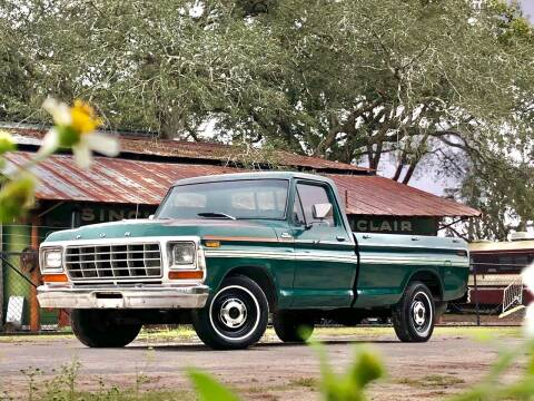 1979 Ford F-100 Custom for sale at OVE Car Trader Corp in Tampa FL