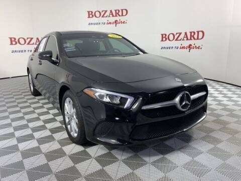 2019 Mercedes-Benz A-Class for sale at BOZARD FORD in Saint Augustine FL