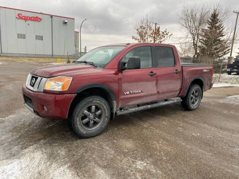 2014 Nissan Titan for sale at Truck Buyers in Magrath AB